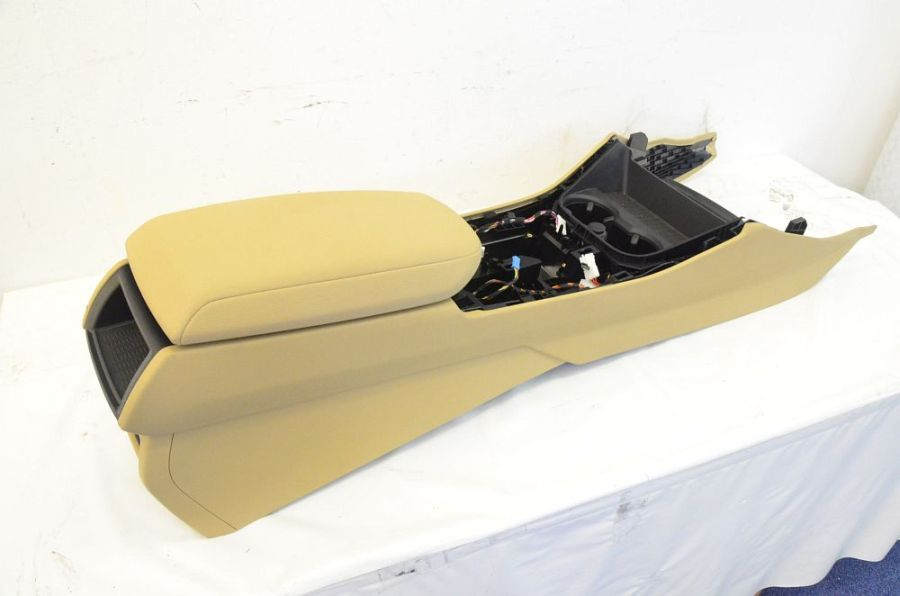 bmw x3 f25 console centrale beige ebay. Black Bedroom Furniture Sets. Home Design Ideas