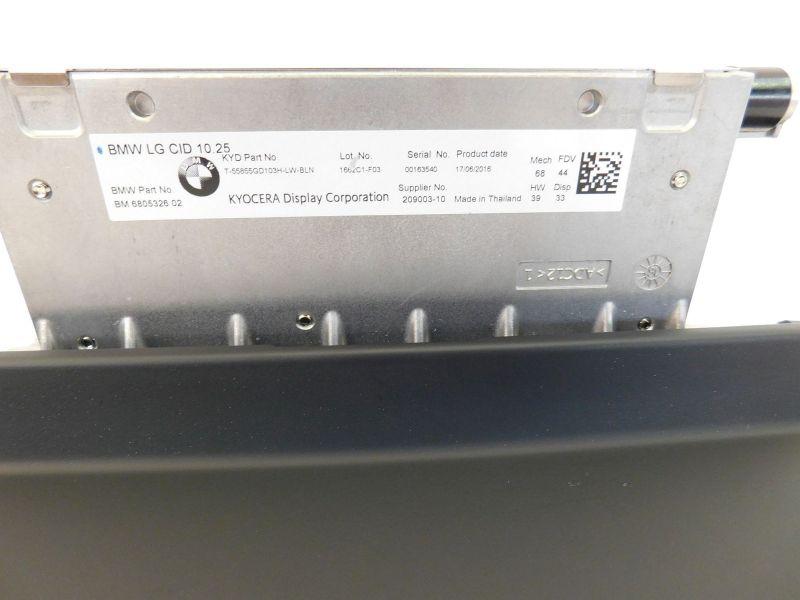 Navigationssystem Naviset NBT Evo, Headunit   Controller   DisplayBMW 7 (G12) 740 I,LI