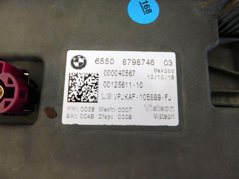 Navigationssystem CID Bildschirm Touch Central Information Display MGUBMW 8 GRAND COUPE (G16) M850XD